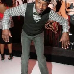 Nelsan Ellis at Amer. Black Film Festival's True Blood Party