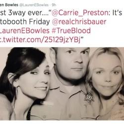 Lauren Bowles posts Goodbye Pics on Twitter