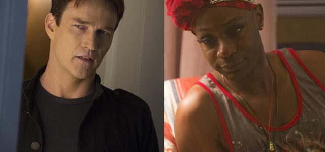 Ask Nelsan Ellis and Stephen Moyer a question for EJ's podcast