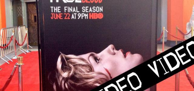 Video: True Blood cast at last premiere