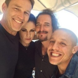 Will Anna Paquin and Stephen Moyer appear on Sons of Anarchy?