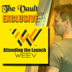 Attending Stephen Moyer's WEEV Launch at Comic Con 2014