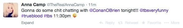 Annacamptweet about Conan