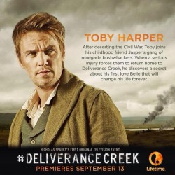 Watch Riley Smith in new TV Film Deliverance Creek