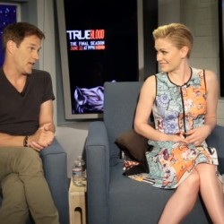 Stephen Moyer & Anna Paquin Talk Working Together