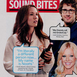 "True Blood's Anna Camp's Sarah Newlin makes EW's ""Sound Bites"""