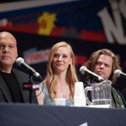 "Photos/Video: Deborah Ann Woll attending NYCC ""Daredevil"" Panel"