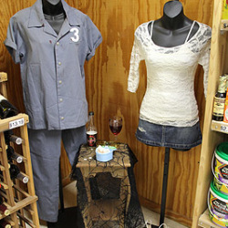True Blood costumes and props on display