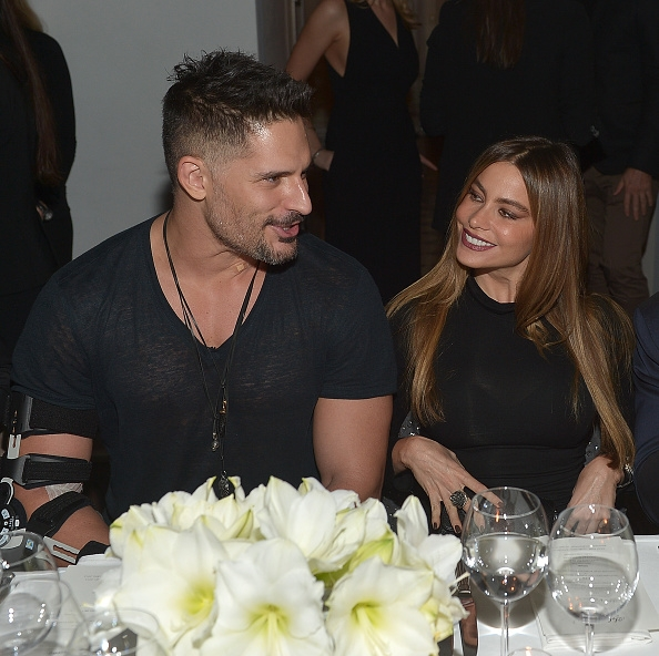 Joe Manganiello and Sofia Vergara attend Gucci And GQ Celebrate Men Of The Year at Chateau Marmont on December 4, 2014 in Los Angeles, California.