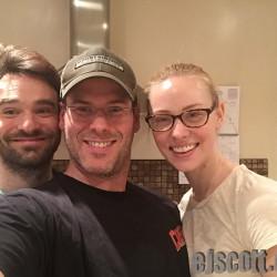 EJ Scott interviews Daredevil's Charlie Cox and Deborah Ann Woll