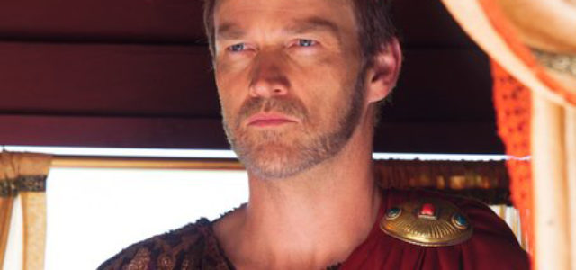 Portrait of Stephen Moyer as Pontius Pilate in Killing Jesus