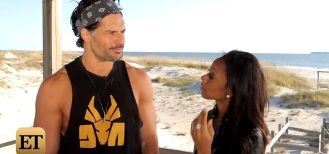 Video interview with Joe Manganiello about Magic Mike XXL