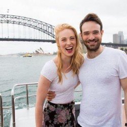 Deborah Ann Woll in Australia for Netflix Launch