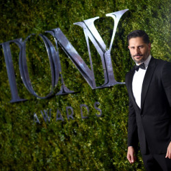 Joe Manganiello gives Tribute Theater Educators at Tony's