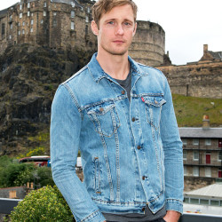 Alexander Skarsgård at Edinburgh International Film Festival