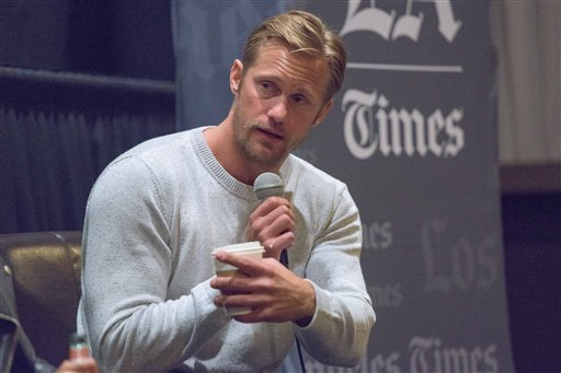 "Alexander Skarsgard attends ""The Diary of a Teenage Girl"" screening and Q&A at Sundance Sunset Cinemas on Monday, July 27, 2015, in Los Angeles. (Photo by Rob Latour/Invision/AP)"
