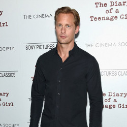 Alexander Skarsgård at NY premiere of Diary of a Teenage Girl