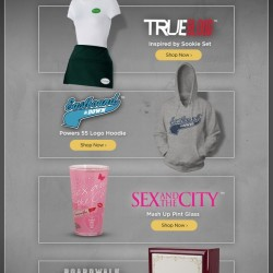 "Buy True Blood items at HBO Shop for ""Flashback Friday"""